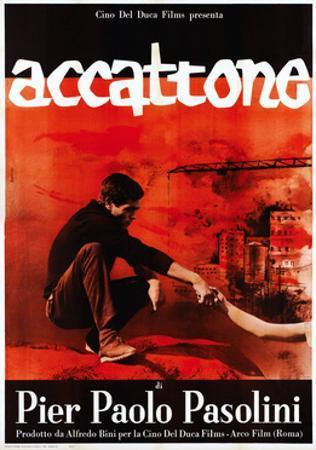 Accattone, Franco Citti on Italian Poster Art, 1961