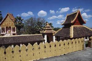 Access Way to Wat That Luang Neua Pagoda, Vientiane (Viangchan), Laos, 20th Century