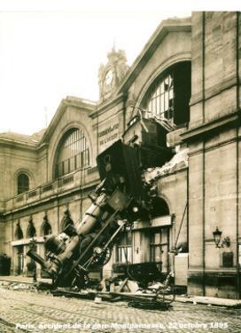 Accident de la Gare Montparnasse 1895