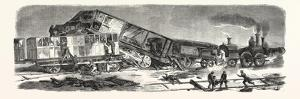Accident Happened on the Versailles Railway (Left Bank), September 9, 1855, France.