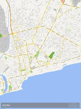 Accra, Ghana Map