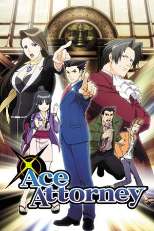 Ace Attorney - Key Art