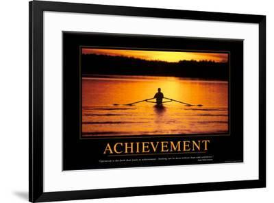 Achievement--Framed Poster