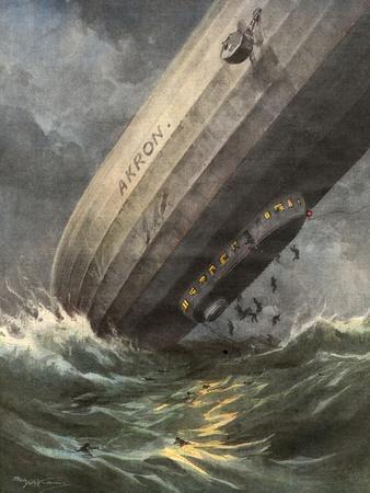 'Akron' Crashes 1933