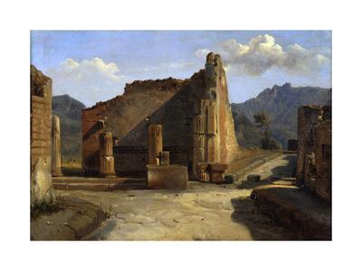 The Forum of Pompeii', C1816-1822