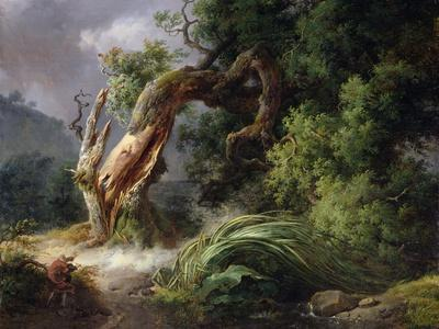The Oak and the Reed, 1816