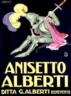 Anisetto Alberti by Achille Luciano Mauzan