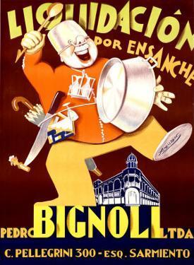 Bignoli Liquidacion by Achille Luciano Mauzan