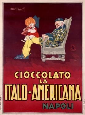 Cioccolato la Italo-Americana, Napoli by Achille Luciano Mauzan