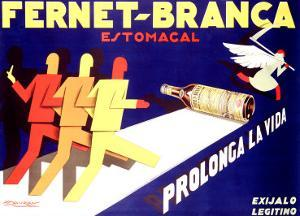Fernet-Branca, Prolonga la Vida by Achille Luciano Mauzan