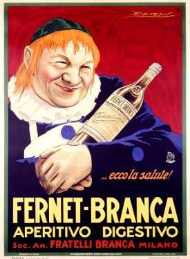 Fernet-Branca by Achille Luciano Mauzan