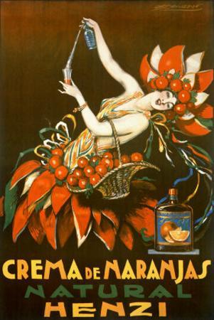 Henzi Orange Cream Soda by Achille Luciano Mauzan