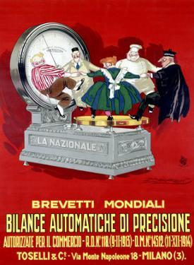 La Nazionale Bilance by Achille Luciano Mauzan