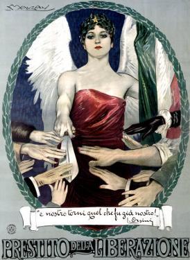 Liberty Bond Prestito Della Liberazione by Achille Luciano Mauzan