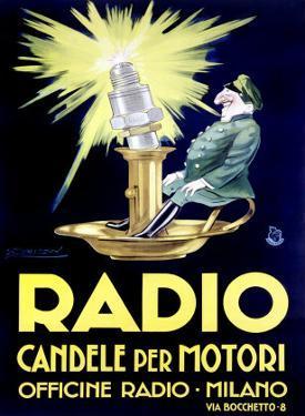 Radio by Achille Luciano Mauzan