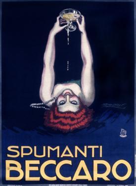 Spumanti Beccaro by Achille Luciano Mauzan