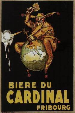 Biere Du Cardinal by Achille Lucien Mauzan