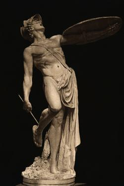 Achilles Wounded with Arrow