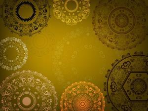 Henna Mandala Design by Acnaleksy