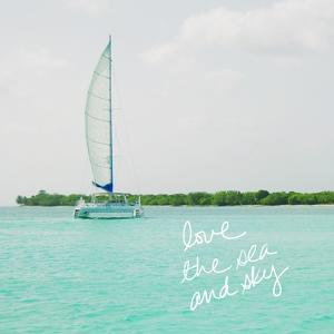 Sailing Along the Island II by Acosta