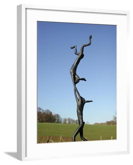 Acrobats, 1997-Barry Flanagan-Framed Giclee Print