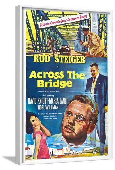Across the Bridge--Framed Art Print