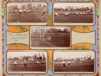 Action from the 1900 Fa Cup Final, 1900