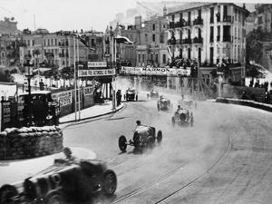 Action from the Monaco Grand Prix, 1929