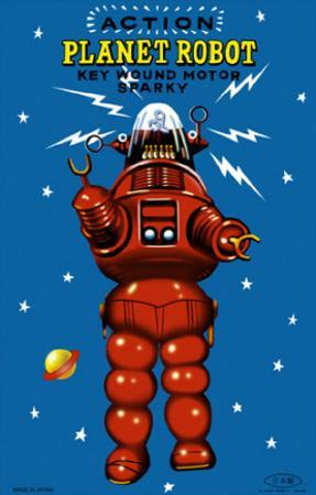 Action Planet Robot