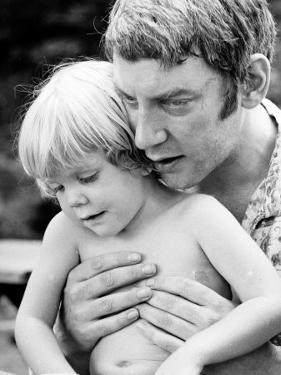 Actor Donald Sutherland W. Son, Future Actor Keifer Sutherland