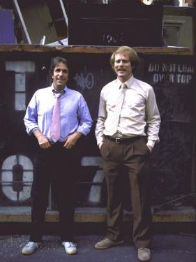 Actor Henry Winkler and Actor Director Ron Howard