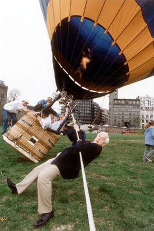 Actor Leslie Nielsen in Oslo for Release of His Film Naked Gun 33 1/3: the Final Insult May 1994