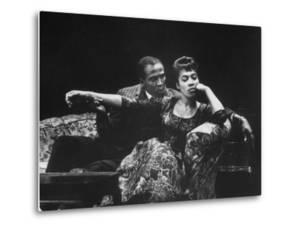 "Actor Louis Gossett Jr. in a Scene from the Play ""A Raisin in the Sun"""