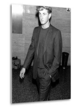 Actor Sean Penn Wearing a Suit