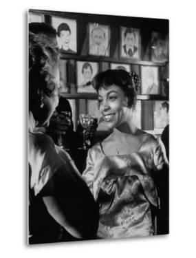"""Actress Ruby Dee, in a Scene from the Play """"A Raisin in the Sun"""""""