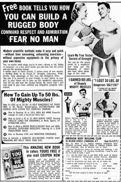 Ad: Body-Building, 1969