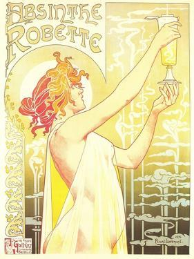 Ad for Absinthe Robette