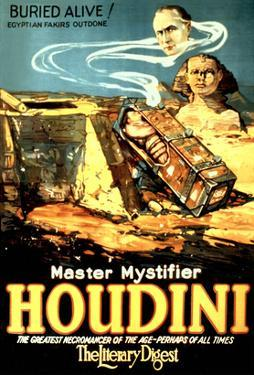 Ad for Houdini, Buried Alive