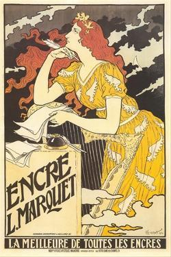 Ad for Marquet Ink