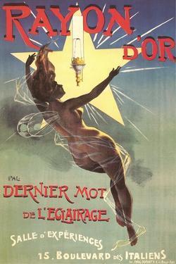 Ad for Rayon D'Or Lighting