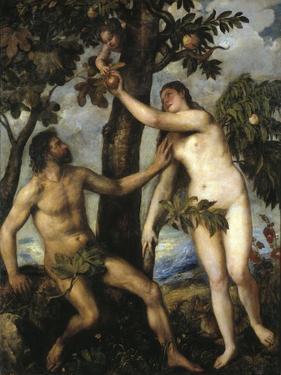 Adam And Eve, Ca. 1550, Italian School