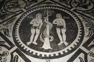 Adam and Eve in Front of Serpent