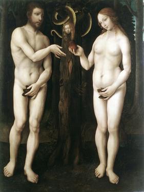 Adam and Eve' ('The Temptation of Adam), C1520