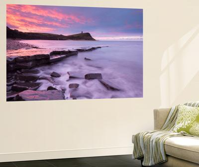 Colourful Dawn Sky Above Kimmeridge Bay on the Jurassic Coast, Dorset, England. Winter by Adam Burton
