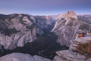 Half Dome and Yosemite Valley from Glacier Point, Yosemite National Park, California by Adam Burton