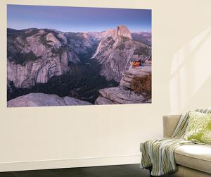 Half Dome and Yosemite Valley from Glacier Point, Yosemite National Park, California by Adam Burton
