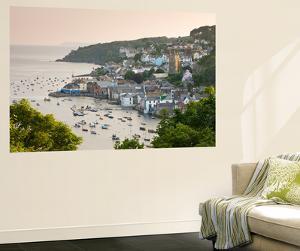 The Cornish Town of Fowey on the Fowey Estuary, Cornwall, England. Summer by Adam Burton