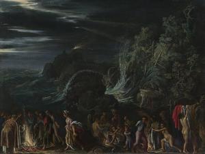 Saint Paul on Malta, Ca. 1600 by Adam Elsheimer