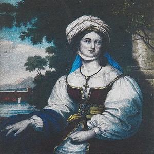 Portrait of Laskarina Bouboulina, 1830 by Adam Friedel