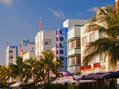Art Deco District of South Beach, Miami Beach, Florida by Adam Jones